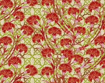 1/2 yd Pastiche Mum Trellis by Jason Yenter for In The Beginning Fabrics 4JYG-1