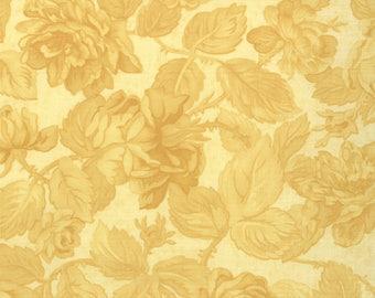 1/2 yd Paris Flea Market Floral Rose Garden Fabric by 3 Sisters for Moda Fabrics 3725 24