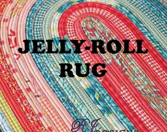 Jelly Roll Rug Pattern by Roma Lambson RJD100