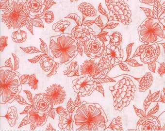1/2 yd Saturday Morning Floral Day Dream by Basicgrey for Moda Fabrics 30441 11