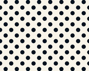 1/2 yd In Bloom Dot by My Mind's Eye for Riley Blake Designs C8075-CREAM