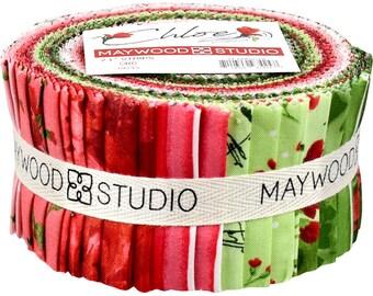 "Chloe 2.5"" Strips/Jelly Roll® by Maywood Studio ST-MASCHL"
