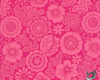 1/2 yd Isabella Kayla Vintage Floral by Lily Ashbury for Michael Miller Fabrics DC7806-CERI-D