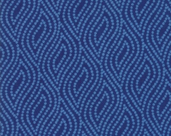 1/2 yd Lazy Days Dotted Ogee by Gina Martin for Moda Fabrics 10075 21