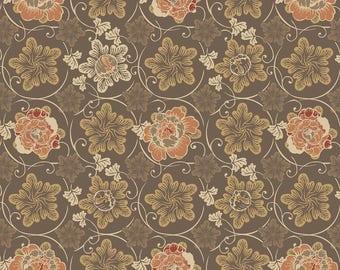 1/2 yd Stella Vines by David Textiles Fabrics DATRR-3028-4C-2