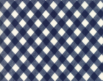 "END of BOLT 15"" Bonnie & Camille Basics for Moda Fabric 55124 37 Navy Blue"