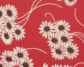 1/2 yd Katie Jump Rope Daisy Bouquet by Denise Schmidt for Free Spirit PWDS108 Geranium