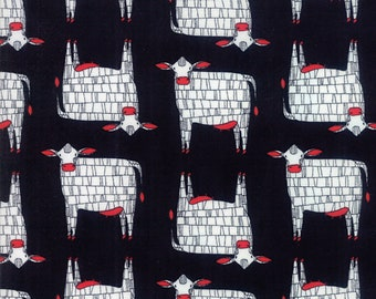 1/2 yd Farm Fresh Novelty Children Moo by Gingiber for Moda Fabrics 48261 12