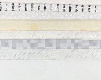 Starter Kit // Collage Cuts Low Volume // Art Gallery // Benartex // RJR // Red rooster // Maywood // Kanvas // Art Gallery // Windham