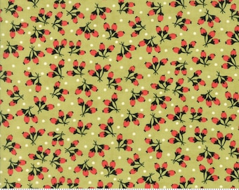 1/2 yd Chestnut Street Floral Cotton Puffs by Fig Tree Company for Moda Fabrics 20275 16