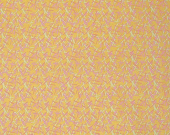 1/2 yd Orient Chopstick by Nel Whatmore for Free Spirit Fabrics PWNW067.SUNSE