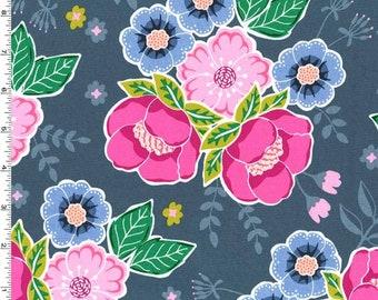 1/2 yd Flower Shop It Can Be Arranged by Michael Miller Fabrics DC7859-PERI-D