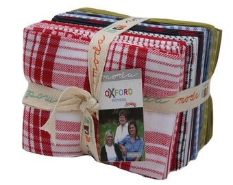 Oxford Wovens Fat Quarter Bundle by Sweetwater for Moda Fabrics 5715AB