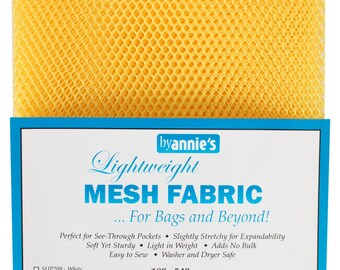 ByAnnie Mesh Lite Weight 18in x 54in SUP209-DND Dandelion
