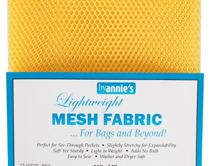 ByAnnie Mesh Lite Weight 18in x 54in SUP209-DND Dandelion