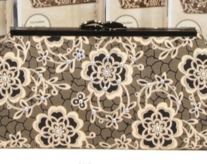 Downton Abbey Rose Modern Clutch Kit Pink Sand Beach Designs #232