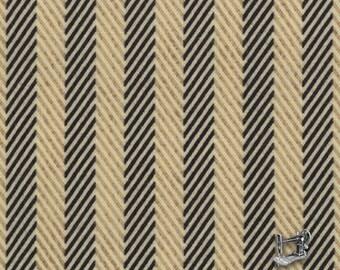 1/2 yd Little Black Dress Herringbone Stripe Fabric by BasicGrey for Moda 30306 13
