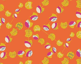 1/2 yd Utopia Chatter Pods Citrica by Frances Newcombe for Art Gallery Fabrics UT-14505