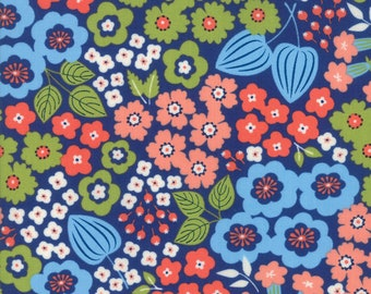 """END of BOLT 17"""" Lazy Days Floral by Gina Martin for Moda Fabrics 10070 15"""