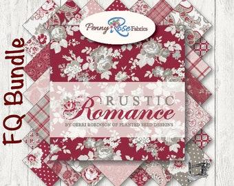 Rustic Romance Fat Quarter Bundle by Gerri Robinson for Penny Rose & Riley Blake Designs FQ-7060-24