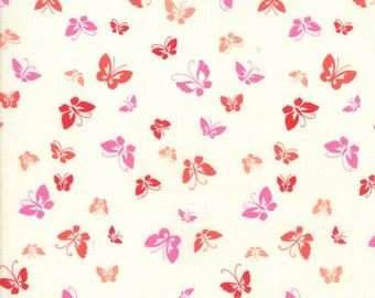 1/2 yd Lazy Days Porcelain Butterflies by Gina Martin for Moda Fabrics 10073 11