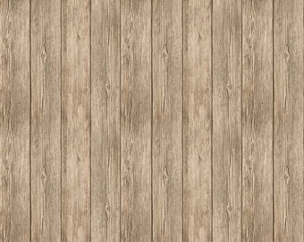 1/2 yd Naturescapes Wood Fencing Shiplap Boards Fabric by Northcott 21406-34