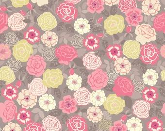 1/2 yd Flo's Wildflowers by Lewis & Irene LEIFLO9-2