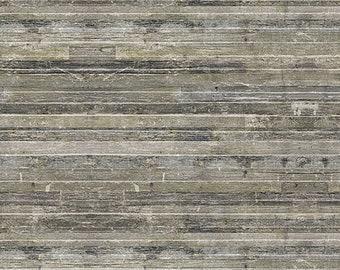 Tim Holtz Yuletide Birch Planks Fabric // FreeSpirit by the Half Yard