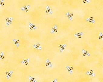Honey Bunny Bee My Baby Fabric // Sleeping Bear Press // Michael Miller by the Half Yard