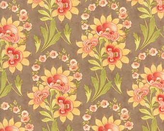 1/2 yd Hazel & Plum Floral Harvest Bouquet by Fig Tree Co for Moda Fabrics 20290 13