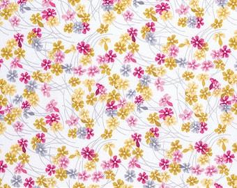 SALE Wander Meadow Fabric // Joel Dewberry FreeSpirit PWJD119.ROSET by the Yard