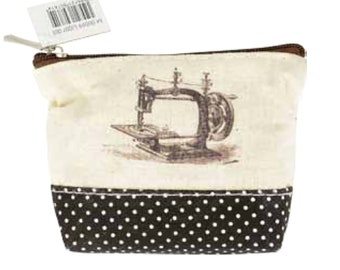 Kit Couture Vintage Sewing Machine Sewing Kit Zipper Pouch M00599 U007 001