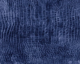 Tim Holtz Worn Croc Fabric // FreeSpirit PWTH020.MOONLIT by the Half Yard