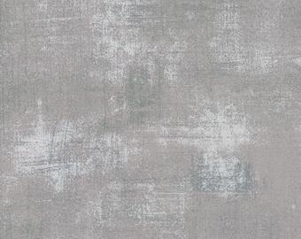 1/2 yd Grunge Basics New Silver by BasicGrey for Moda Fabrics 30150 418