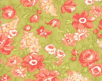 Farmhouse II Floral Fabric by Fig Tree & Co for Moda Meadow by the Half Yard