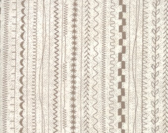1/2 yd Maven Stitches Taupe by BasicGrey for Moda Fabrics 30465 20
