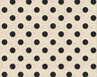 French Couture Textured Dots Fabric // David Textiles 3397-3C-4 by the HALF YARD