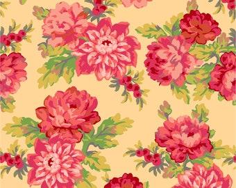 Sweet Beginnings Focal Floral Fabric // Maywood Studio MAS10010-S by the Half Yard