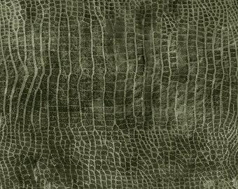 Tim Holtz Worn Croc Fabric // FreeSpirit PWTH020.BAYOU by the Half Yard