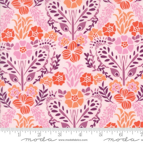 Cloud Ochrel Giardinin Grand Canal by Kate Spain Moda Quilting Cotton Fabrics