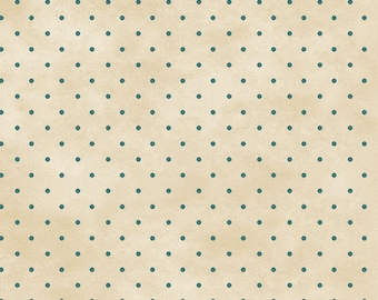 Welcome Home Dots Fabric // Maywood Studios MAS609-EQ by the HALF YARD