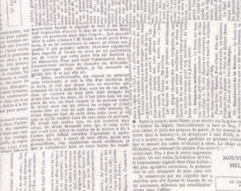 1/2 yd Compositions Newsprint by BasicGrey for Moda Fabrics 30451 14 Fog