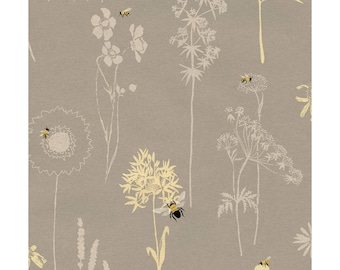 1/2 yd Save Our Bees Wildflowers by Studio E Fabrics 3957-90