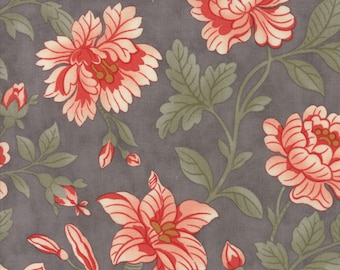 1/2 yd Quill Floral Damask by 3 Sisters for Moda Fabrics 44156 12 Feather
