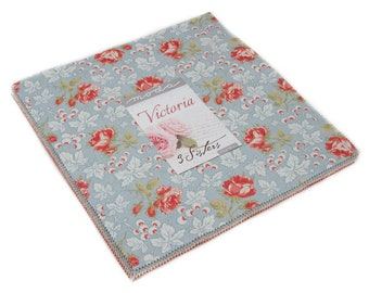 FREE SHIPPING Victoria Layer Cake® by 3 Sisters for Moda Fabrics 44160LC