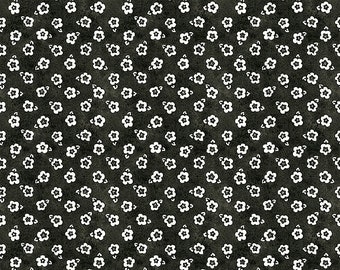 Painter's Palette Posey Fabric // Riley Blake C8941-BLACK by the Half Yard