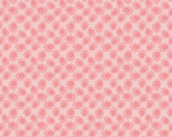 Linen & Lawn Pink Daisy Fabric // Sue Daley // Penny Rose // Riley Blake by the Half Yard