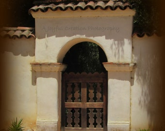 California Mission - Photography - Mission Photograph - Mission San Juan Bautista - San Juan Bautista - Historic church - Spanish Mission