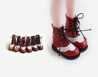Lace Boots for Blythe , azone, Jerryberry, Momoko, | Blythe shoes | Doll Shoes
