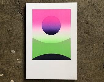 Gemini Accent Print